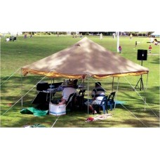 10x10 Traditional Pole Tent (Made to order wide colour selection)