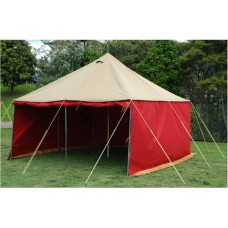 13' x 13' Traditional Pole Tent (made to order, wide colour selection)