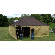 "19' 6"" x 13' Traditional Pole Tent (2 Centre Poles) Made to order, wide colour selection"
