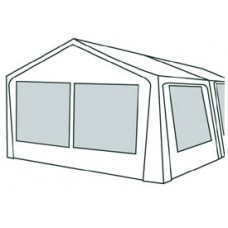 Kaimai Canvas and clear Sunroom Coleman