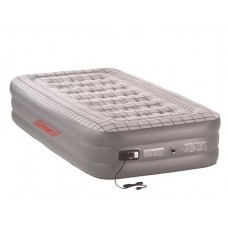 Coleman Queen Double High Airbed built In 240V Pump